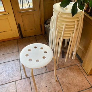 イケア スツール 椅子 10脚セット