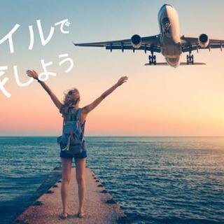 マイルを使って無料で旅行にいきたい方は、他にいませんか?