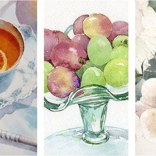水彩画の個人レッスン 〜透明水彩の家庭教師