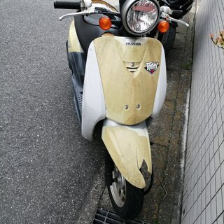 故障バイクお渡しします。