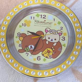 りらっくま掛け時計
