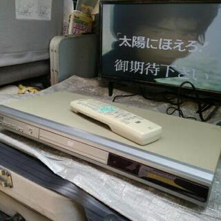 三菱 DVDプレーヤー リモコン付き