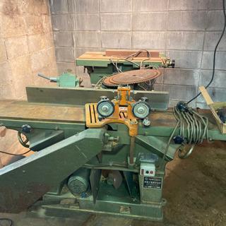 常盤工業 手押鉋盤 丸鋸昇降盤