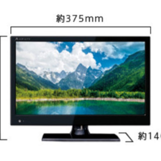 6V型地上デジタルハイビジョン液晶テレビ、Scubism AT-...