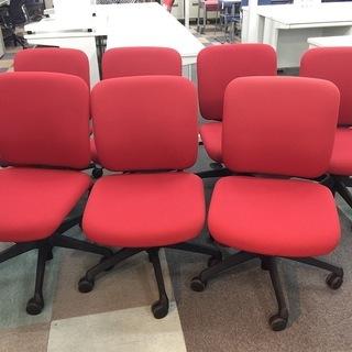 中古良品 オカムラ オフィスチェア ガス椅子 ワークチェア 学習...
