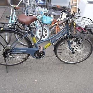 自転車 26インチ CLASSTATION 6段切替 ライト か...