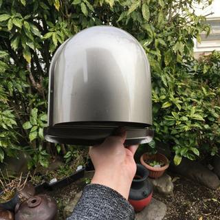 排気フード付ガラリ 排気口カバー
