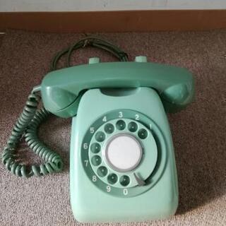 昔懐かしい ダイヤル式電話機 600-A2