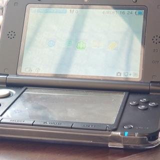 Nintendo 3DSLL ブラック 任天堂 多少訳あり品 ケ...