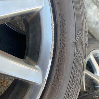 225/50ZR18  タイヤホイールセット
