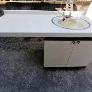 洗面台 洗面ユニット DIY TOTO 野外 シンク