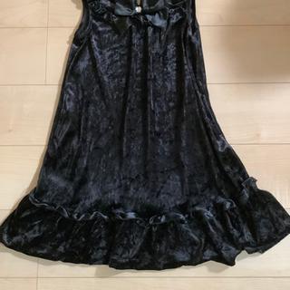 エニィファム☆黒ワンピース☆140㎝