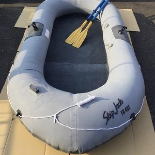 <良品>SKIP JACK FB401 ゴムボート 4人乗・釣り...