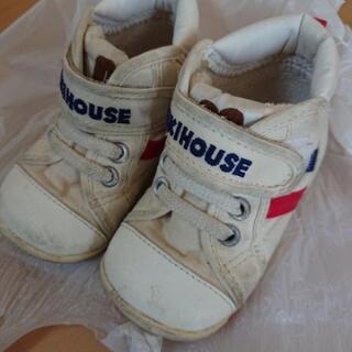 MIKI HOUSE ミキハウス ホワイト スニーカー 13