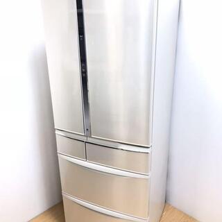 配達設置🚚 冷蔵庫 大型 501L 6ドア エコナビ運転 全室ナ...