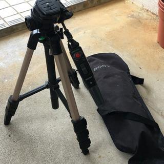 ソニー ビデオカメラ用三脚 スタンド