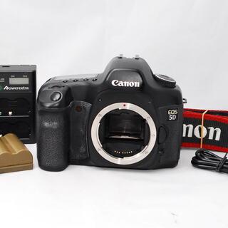 【キヤノン】Canon EOS 5D【充電器付き】