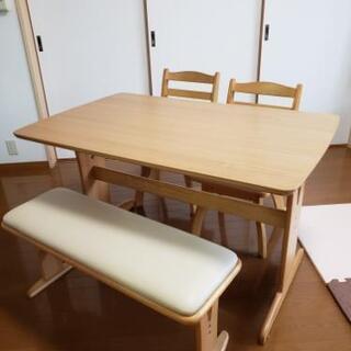 ※交渉中【美品】ダイニングテーブルセット 4人掛け