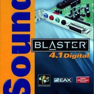 SOUND BLASTER 4.1DIGITAL