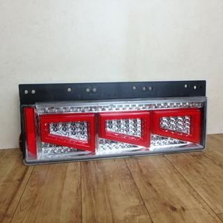 トラック LED テールランプ シーケンシャルファイバー ジャン...
