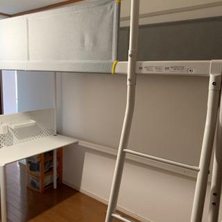 IKEA ロフトベッド キッズ テーブル