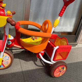 【受け渡し者決定】アンパンマン  子供用三輪車