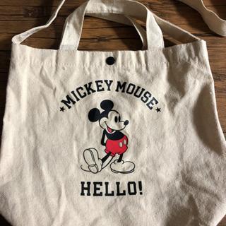 お取引中。ミッキーマウス トートバッグ、ショルダーバッグ