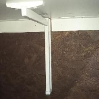 壁面取付折り畳みテーブル サイドテーブル 中古 - 家具