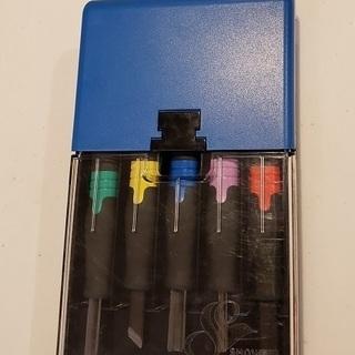 彫刻刀 カラー 5本セット SHOWA 右利き用