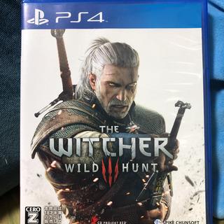 PS4   ウィッチャー3 ソフト