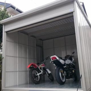 バイクガレージ BS-SZ2929WH 5月7日までの撤去期限付き