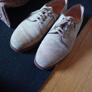 定価12000円 hush puppies スウェード靴 23.5