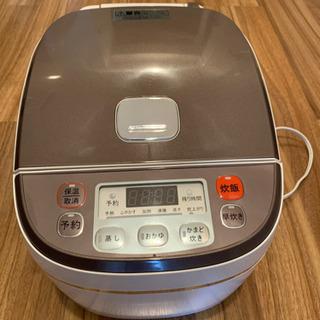 高級土鍋加工炊飯器 6合炊き