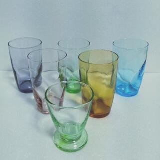 グラス5色組
