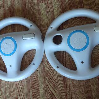 Wii マリオカート用 ハンドル 2個セット wii RVL-024