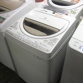 札幌 6.0kg 2015年 洗濯機 東芝 AW-6G2 TOS...