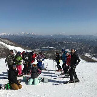 35歳以上のスキー&スノボ仲間募集