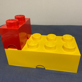 LEGO レゴ ストレージボックス2個セット