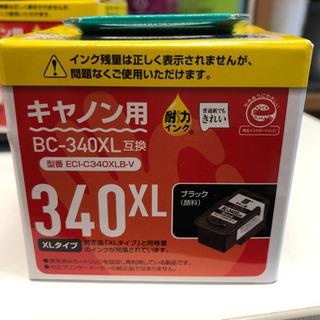 インク、未使用。箱に破損あり。キャノン。 340X L