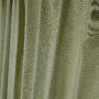 黄緑 カーテン