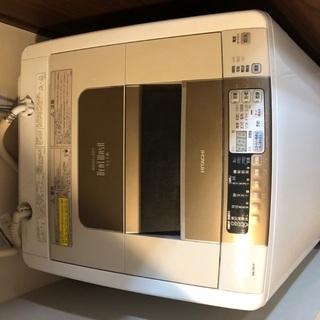 日立製 洗濯・乾燥機 ビートウォッシュ BW-D8JVの画像