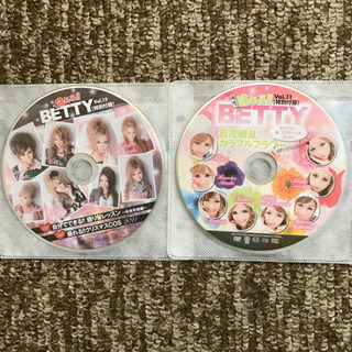 【※中古】BETTY 特別付録DVD 5枚セット