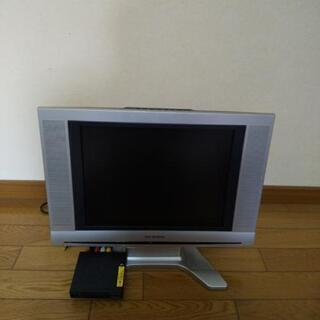 地デジチューナー、液晶アナログテレビ