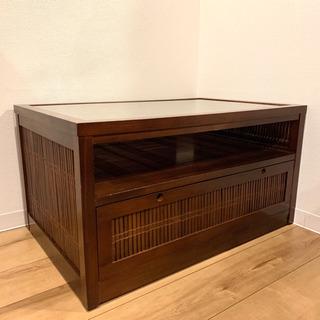 (値下げ可能)アジアン家具 バリ風 テレビ台 タンス