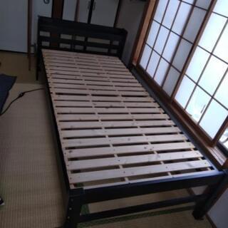 棚付き すのこベッド