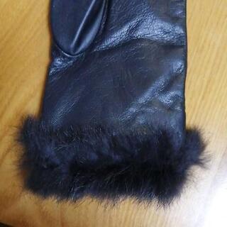 本革手袋、