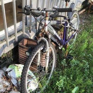 愛用した自転車