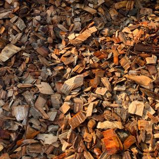 ウッドチップ、100%天然木、フレコンバックにてんこ盛り!