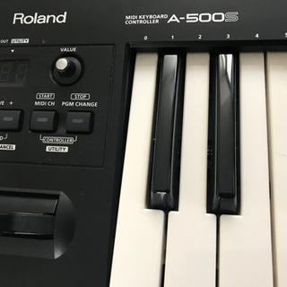 Roland A-500S MIDIキーボード(決まりました