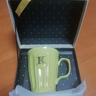 Afternoon Tea イニシャルマグカップ~K~